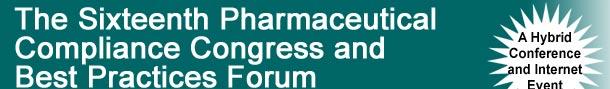 pharmaceutical compliance congress